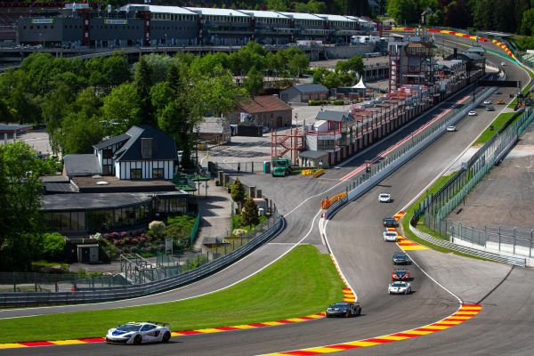Double victory for Flewitt as Pure McLaren GT Series races at Spa-Francorchamps